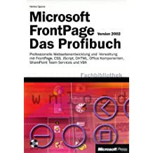 Microsoft Frontpage Version 2002, m. CD-ROM