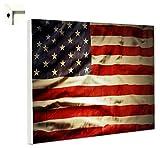 Pinnwand Magnettafel Memoboard Motiv Flagge Fahne USA Stars & Stripes (60 x 40 cm)