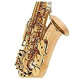 Saxophone Alto Intermédiaire Rosedale par Gear4music Or Rose