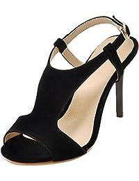 VulusValas Mujer Fashion Tacon Altos Sandalias  Zapatos de moda en línea Obtenga el mejor descuento de venta caliente-Descuento más grande