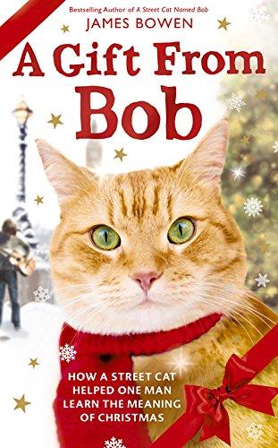 Buchseite und Rezensionen zu 'A Gift from Bob: How a Street Cat helped one Man learn the Meaning of Christmas' von James Bowen