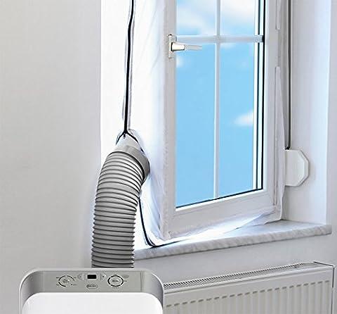 Carreguard AirLock Fensterabdichtung für mobile Klimageräte und Ablufttrockner