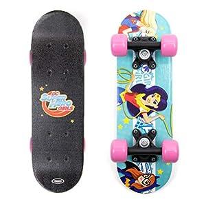 Superhero Girls- Mini Skate en Madera 17 Pulgadas (Darpeje OSHG247)