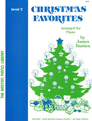 Christmas Favorites Level 2 (The Bastien Piano Library)
