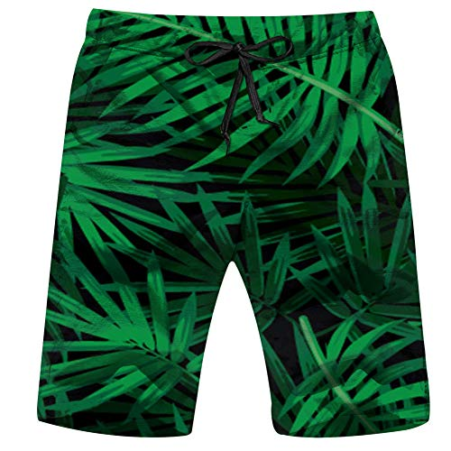 magic ship Food and Drink Men's Cool Swimtrunks Quick Dry 3D Printed Casual Hawaiian Mesh Beach Board Shorts Xx-Large