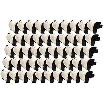 Lot de 10 Prestige Cartridge DK11202 Etiquettes expedition compatible pour Brother P-Touch 62mm x 100mm