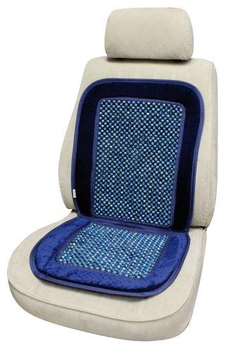 CORA 000127455 Microrolli Velour Coprisedile Auto con Microsfere, Blu