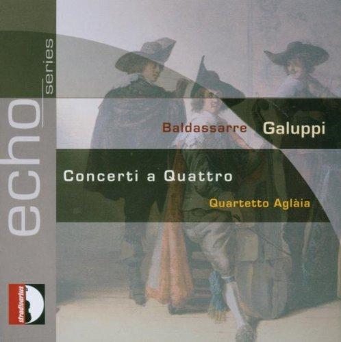 Galuppi : Concertos à 4 n° 1 à 7. Aglaia.