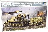 Trumpeter 1526 - Cañón autopropulsado alemán Flakvierling 37 (en vehículo Sd.Kfz. 7/2) [importado de Alemania]