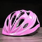 Casco de seguridad para niños rueda de esquí de protección de los hombres y las mujeres general ABS material de tamaño casco ajustable , pink