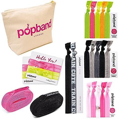 Popband Cinta para gimnasio bolsa Essentials Diademas