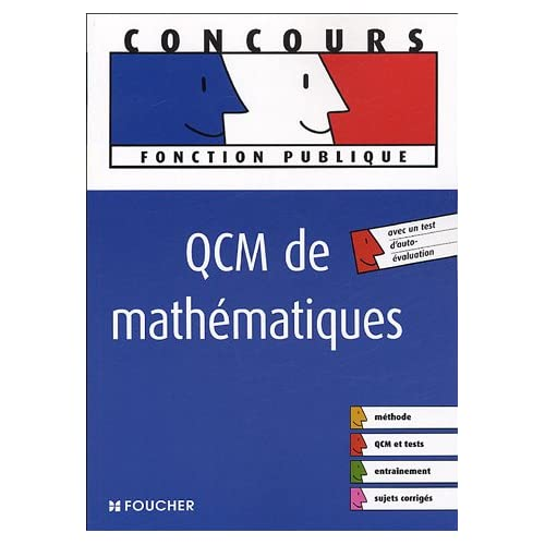 QCM de mathématiques