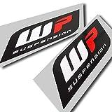 WP Suspension Grafik-Aufkleber, Logo-Aufkleber, groß, 2 Stück (Stil 2)
