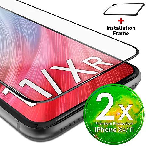 UTECTION 2X Cristal Templado 3D para Phone 11