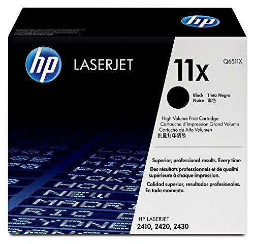 Hp Micr-laser Toner (HP 11X (Q6511X) Schwarz Original Toner mit hoher Reichweite für HP Laserjet 2420, HP Laserjet 2430)