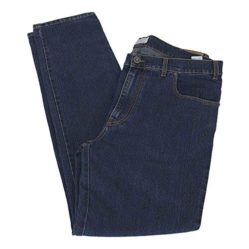 Pantalone jeans taglie forti uomo maxfort 2139 ssw stretch - blu, 76 girovita 152 cm