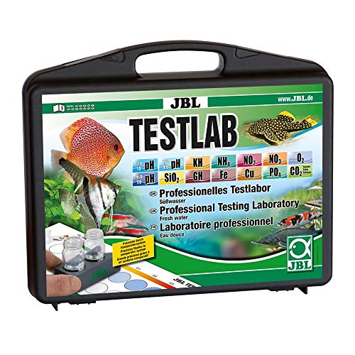 JBL Testlab Professioneller Testkoffer für Süßwasser-Analysen -