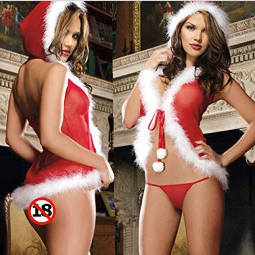 Klein Sao Kostüm - Butterfly BB Europa und die Vereinigten Staaten Halloween Weihnachten erotische Dessous Perspektive Mesh Weihnachtsservice Weihnachten Mädchen sexy Pyjamas