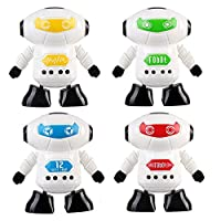 Xshuai  ® Clockwork Wind Up Running Robot Toy for Baby Kids Developmental Gift Puzzle Toys Hobby Funny Toy