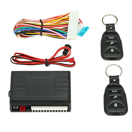KKmoon Remote Central Control Box Kit Auto Türschloss Keyless Entry System mit Trunk Release Button Universal -