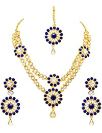 Atasi International Gold Plated Jewellery Set For Women (Golden)(GB1829)