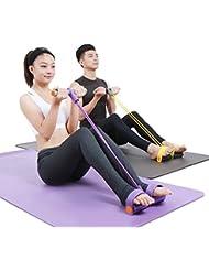 CHIC-CHIC Sport 1PC Bande Elastique de Résistance d'Exercices pour Yoga Fitness et Musculation Gyms Entretenir la Forme N'importe Où pour Homme et Femme