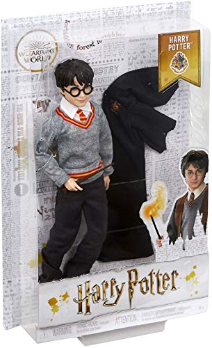 517DLObxSYL - Harry Potter Muñeco Harry de la colección de Harry Potter (Mattel FYM50)