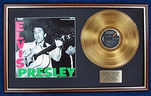 """Elvis Presley-USA Disco LP + Oro 24Carati, colore """"Elvis Presley"""