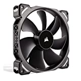 Corsair CO-9050045-WW ML Series ML140 Pro 140 mm Low Noise High Pressure Premium Magnetic Levitation Fan - Black