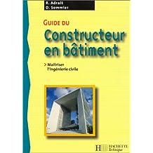 Guide du constructeur en bâtiment : Livre de l'élève