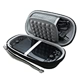 for Sony Playstation Vita 1000/2000 PSV PS PSVITA Slim Console Black EVA Hard Storage Travel Carry Case Bag with Game Card Slots by co2CREA by co2UK
