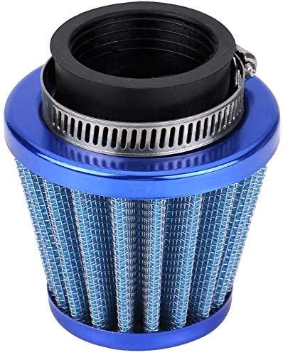 Ejoyous 38mm Filtro Dell'aria, Filtro Dell'aria Dell'entrata Universale per Fornire Aria Interna Pulita per Fuoristrada, ATV, Quad Dirt Pit Bike, Blu