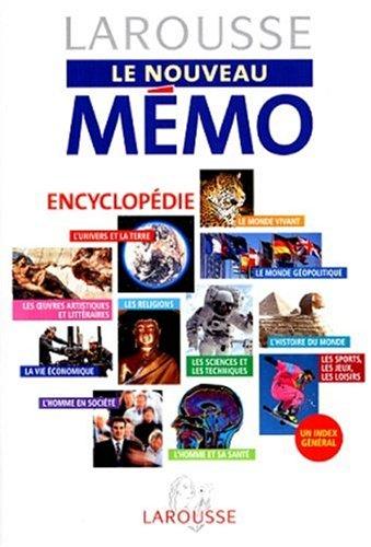 LAROUSSE LE NOUVEAU MEMO. Encyclopédie par Collectif
