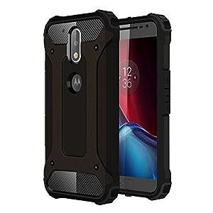 Dual Layer Armor Case Hülle für Huawei Mate 9 - Skitic Hybrid Rugged Heavy Duty Outdoor Cover TPU Bumper Handyhülle Drop Resistance Tasche Schutzhülle für Huawei Mate 9 Smartphone - Khaki
