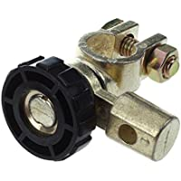Interruptor de la bateria - SODIAL(R)Interruptor de la bateria enlace conmutador Desconectar de corte rapidamente Coche Camion Piezas de vehiculos Negro (interruptor de la bateria 4)
