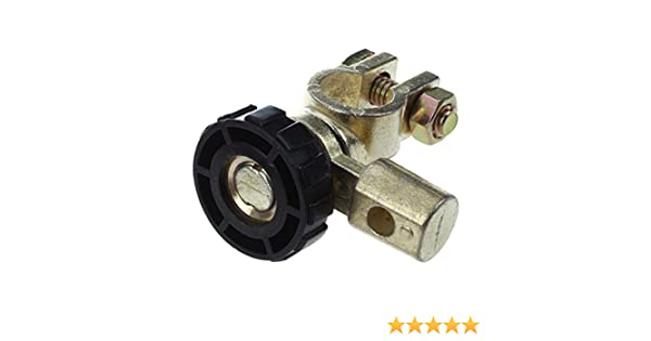 R Battery switch 4 SODIAL Battery Terminal Link Switch Quick Cut-off Disconnect Car Truck Auto Vehicle Parts Black