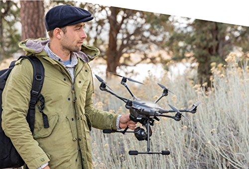 Yuneec Typhoon H Plus Drone con Camera da 1″ per i fotografi et videograf, Grigio - 7