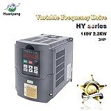 Frequenzumrichter (VFD),Computerized Numerical Control (CNC), der Motor Inverter Konverter 110V 2.2KW 3HP für Spindelmotor, Kontrolle der Geschwindigkeit, Huanyang HY –Serie (110V,2.2KW).