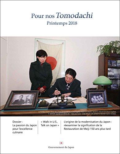 Couverture du livre Pour nos Tomodachi Printemps 2018