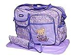 Offspring Shoulder Diaper Bag (Purple)