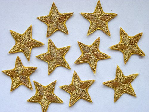 -pack-of-10-sparkly-gold-iron-on-or-sew-on-star-patches-