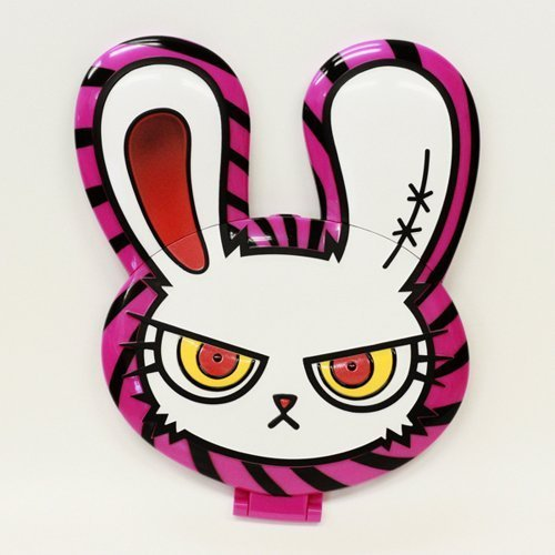 BLOODY BUNNY Compact Mrror with Kyarypamyupamyu [Japan Import] (Pink) by N/A -
