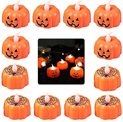 Guirnalda de luces de calabaza para Halloween 3 m fiesta exterior Norbase 30 luces LED de calabaza casa para interior luces de hadas jard/ín