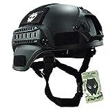 MICH 2000, casco protettivo con sponde laterali NVG Mount & per softair militare tattico per Paintball