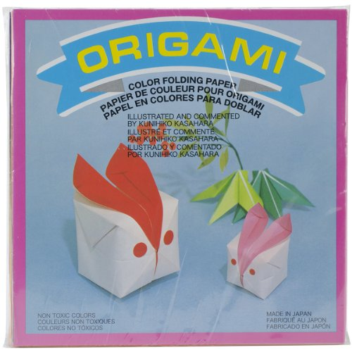 Aitoh Origami Papier 5.875-inch X 5.875-inch 300 Sheets-solid Farben - 5.875