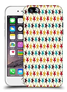 Snoogg Multicolor Star Pattern Designer Protective Phone Back Case Cover for Apple iPhone 6