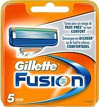Gillette Fusion-Cuchillas de afeitar