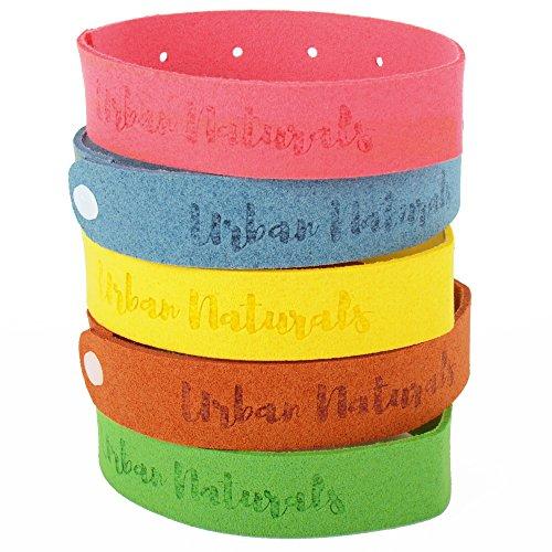 mosquito-repellent-bracelet-100-natural-ingredients-no-deet-family-bundle-5-multicolor-bands-pack-up