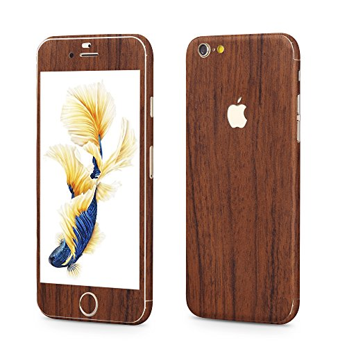 Apple iPhone 6 Plus, 6s Plus Sticker OKCS® Skin Folie Full Body Wrap Aufkleber Schutzfolie Protector in Holz Design in American Cherry