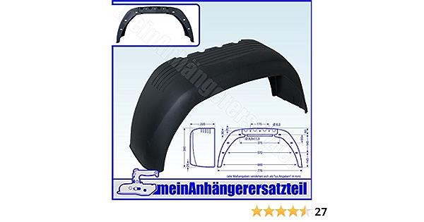 Al Ko Anhänger Kotflügel Schutzblech 220x776mm 22x77cm 22 77cm Alko Ea220 Auto